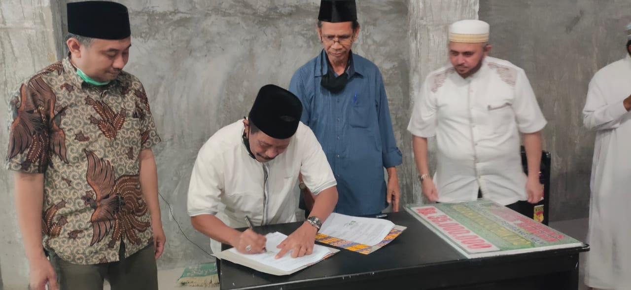 Masjid Al Huda Fakultas Teknik Menerima Hibah Pemkot Palu